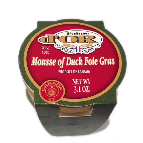 Mousse Foie Gras with Porte Wine 3.1oz
