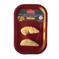 Rougie Duck Foie Gras - 2 Slices, Flash-Frozen