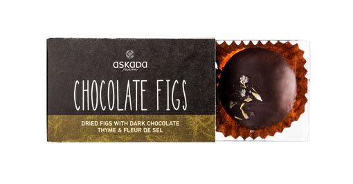 ΣΥΚΑ ΜΕ ΣΟΚΟΛΑΤΑ ΑΝΘΟ ΑΛΑΤΙΟΥ & ΘΥΜΑΡΙ - CHOCOLATE FIGS w/ FLEUR DE SEL & THYME