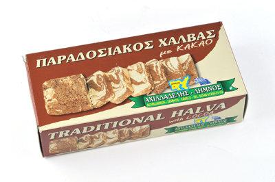 ΧΑΛΒΑΣ ΜΕ ΚΑΚΑΟ - HALVA w/ COCOA