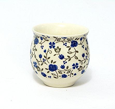 Copo Bojudo de Porcelana (flores miúdas)