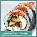 Jumbo Soft Shell Crab Sushi Roll