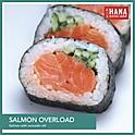 Salmon Overload Sushi Roll