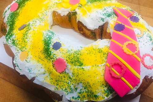 Fathers Day Themed King Cake