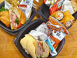 po boy box lunch catering business
