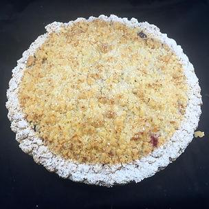 Apple Strusel Pie