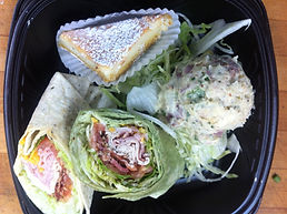 Spinach wrap box lunch catering new orleans