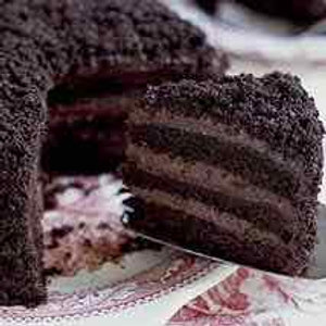 New Orleans Black Out Cake