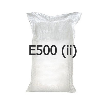 Сода пищевая, мешки 50 кг (пищевая добавка Е500 (ii))