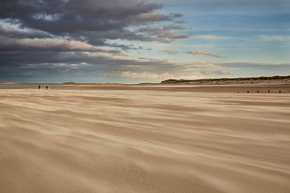 Drifting sands at Brancaster