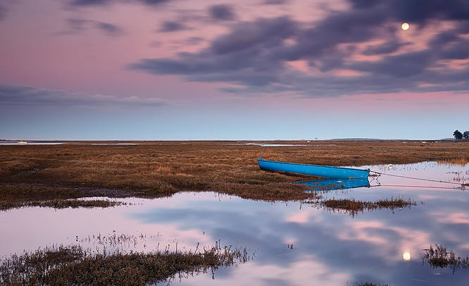 Brancaster acroos the moors