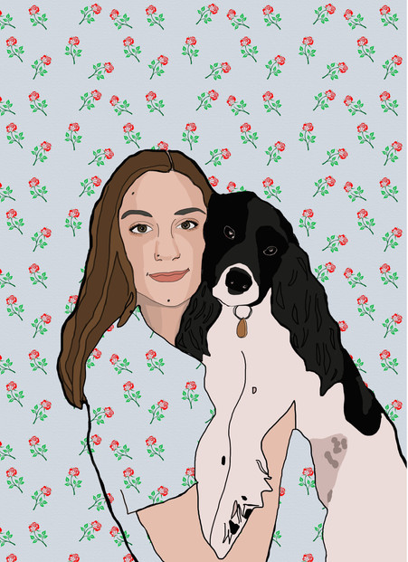 'All You Need Are Dogs' - Digital Illustration