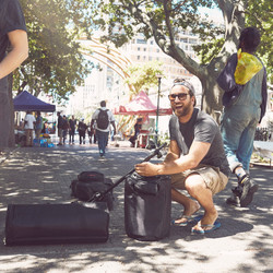 Busking with LD Systems MAUI 5 GO 3