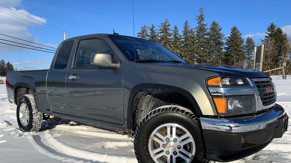 2011GMC CANYON EXTENDED CAB, 4X4, 4CYL