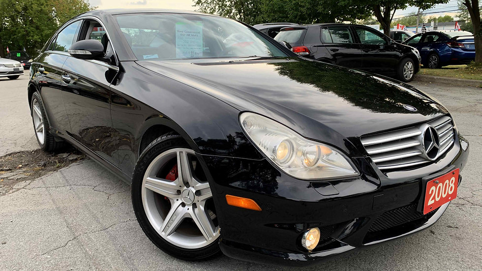 2008 MERCEDES CLS550 AMG - ONLY 147,000KMS!