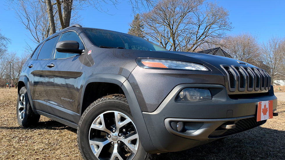 2014 JEEP CHEROKEE TRAILHAWK 1 OWNER!