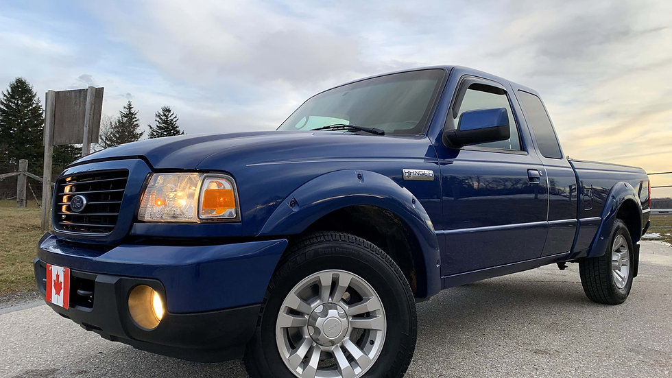 2009 FORD RANGER SUPERCAB 4X4