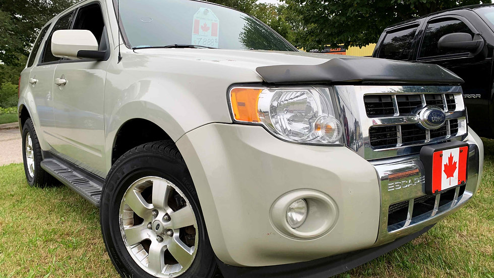2009 FORD ESCAPE LIMITED 4WD - LOW KMS!