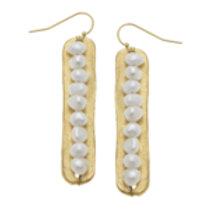 Susan Shaw Pearl Earrings