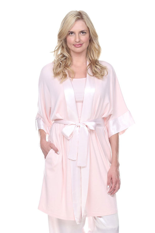 PJ Harlow Shala Robe in Blush
