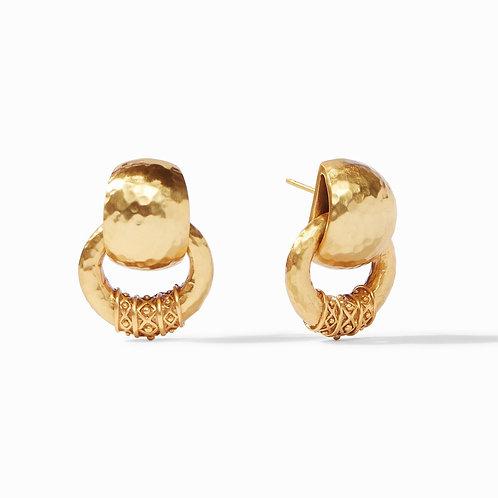 Julie Vos Catalina Doorknocker Earring