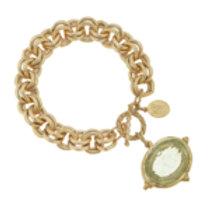 Susan Shaw Venetian Glass Bee Bracelet