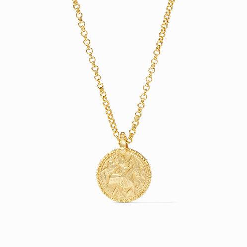 """Julie Vos Coin Pendant 39"""""""
