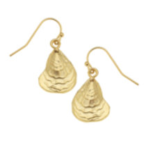 Susan Shaw Oyster Earrings