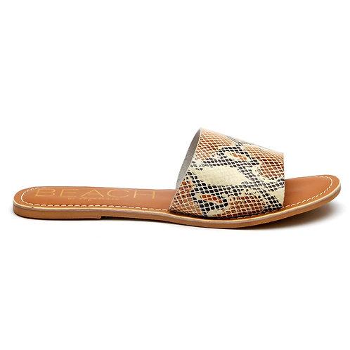 Cabana White Snake Sandal
