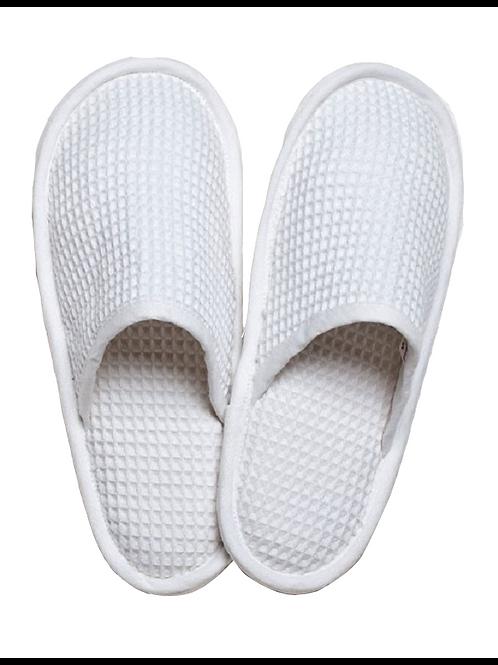 Medium Waffle Weave Slippers (7-8)