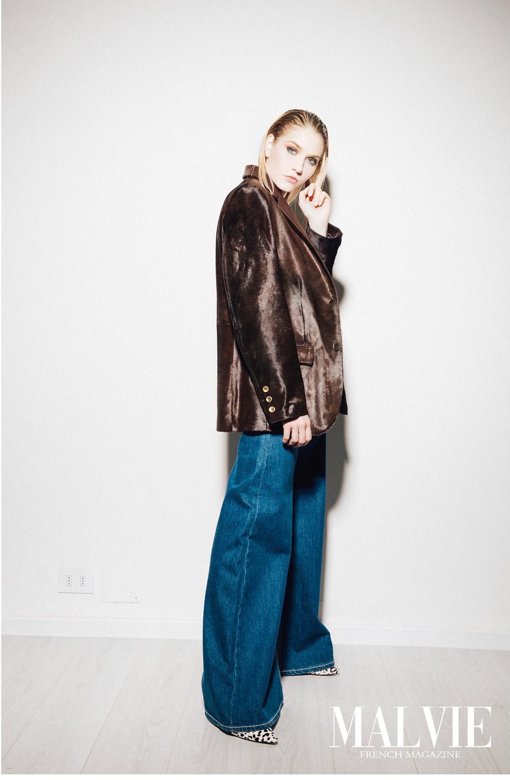 Fashion Designer: Erika Aldinucci Makeup Artist: Ilaria Guidi Photographer: Dadox Female Model: Anna Sadykova Wardrobe Stylist: Greta Gramigni