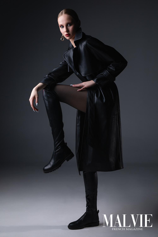 Photographer: Serhii Kyrychenko Model: Valeriya Wardrobe Stylist: Anna Lymarenko Makeup Artist/Hair Stylist: Anna Zhadko Assistant: Anna Dukach