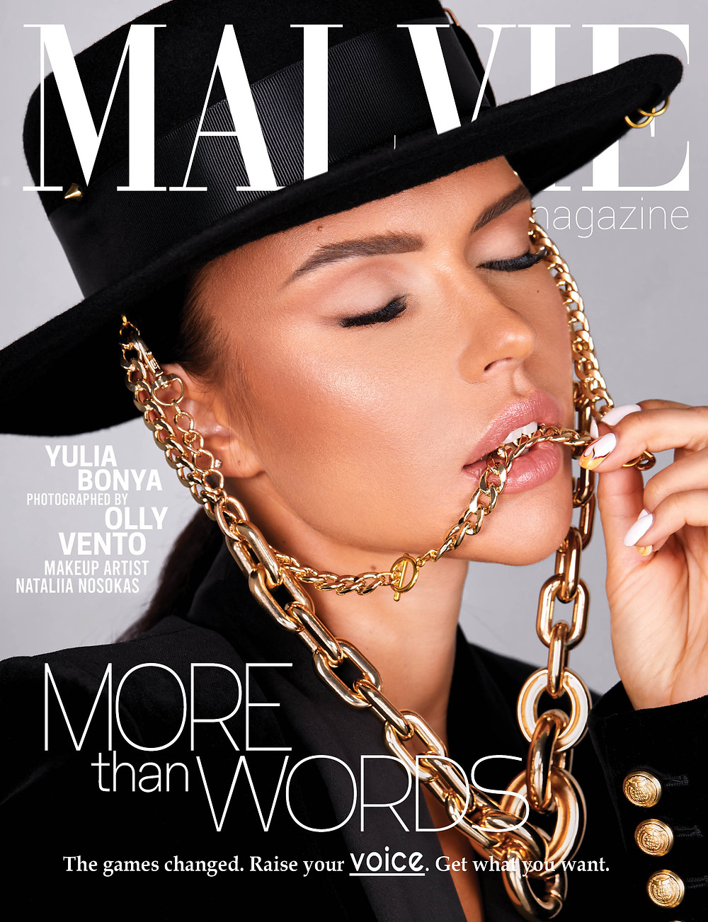 Cover of MALVIE Fashion and Beauty Magazines The Main ISSUE Vol. 08