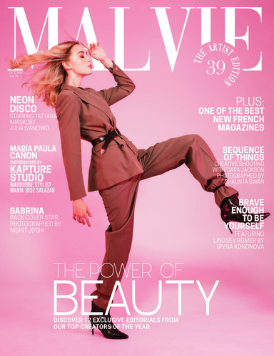 MALVIE Mag The Artist Edition Vol 39 Oct