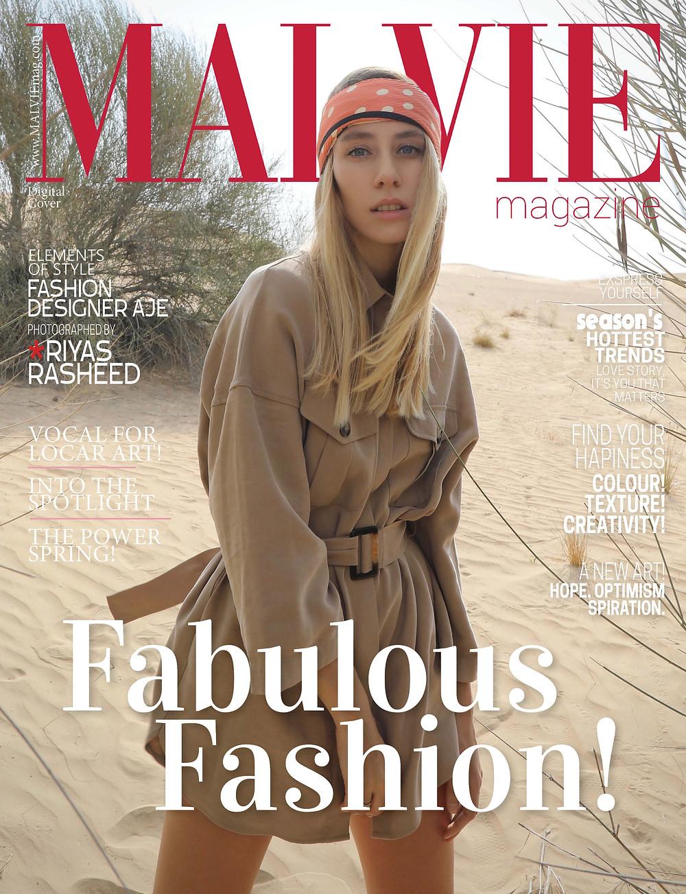 Model: Magda Swider @cyrusmodels Photographer: Photographer: Riyas Rasheed @dubaiphotographer Fashion Designer: Aje