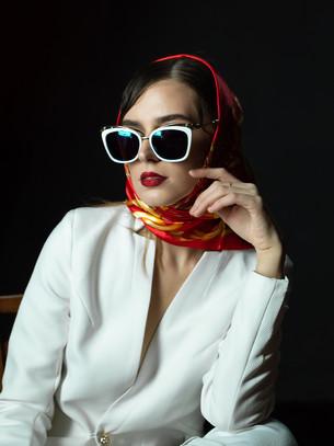 Fashion Model Lana Klymenko