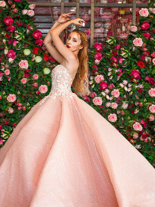 Haute Couture in Secret Garden with Natalie Spivak