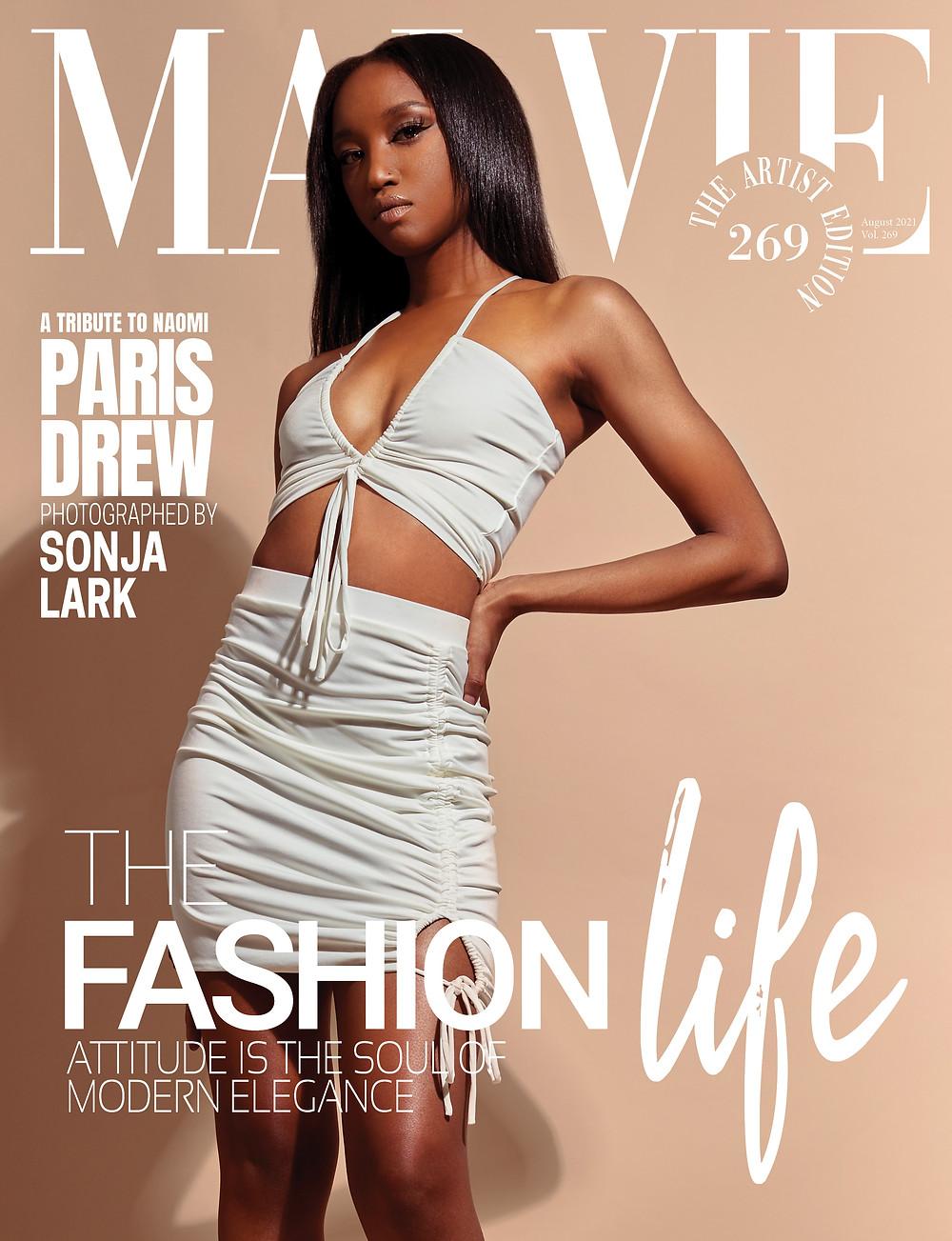Fashion Designer/Photographer: Sonja Lark @tempetestudios Model: Paris Drew @babyp_22 @tempetestudios Makeup Artist: Eva Gonzalez @eva_glez  Hair Stylist: Quinci Lonnie  @qmajor