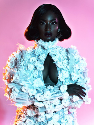 Stefan Cole:  I wanted to show the beauty of a black woman recounted through the skin