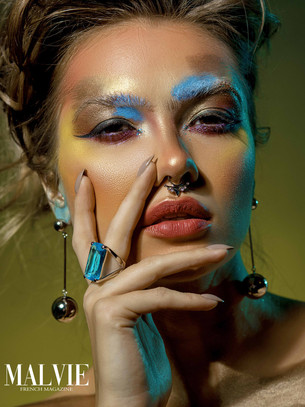 5 High-end Makeup Looks for a Fashion Magazine