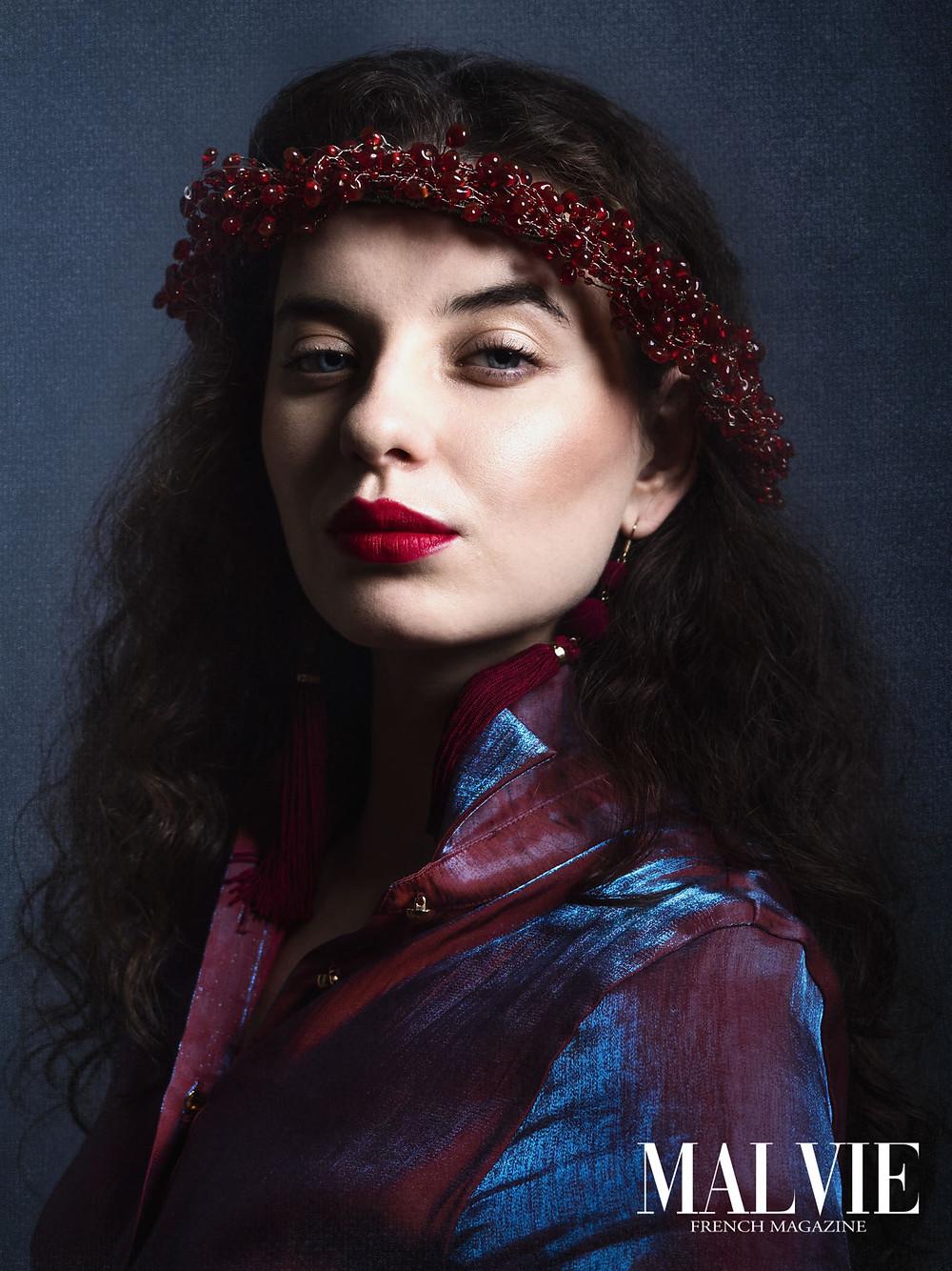 Wardrobe Stylist/Photographer/Accessory Designer/Retoucher: Katarzyna Deptula Model: Natalia Dokudowiec