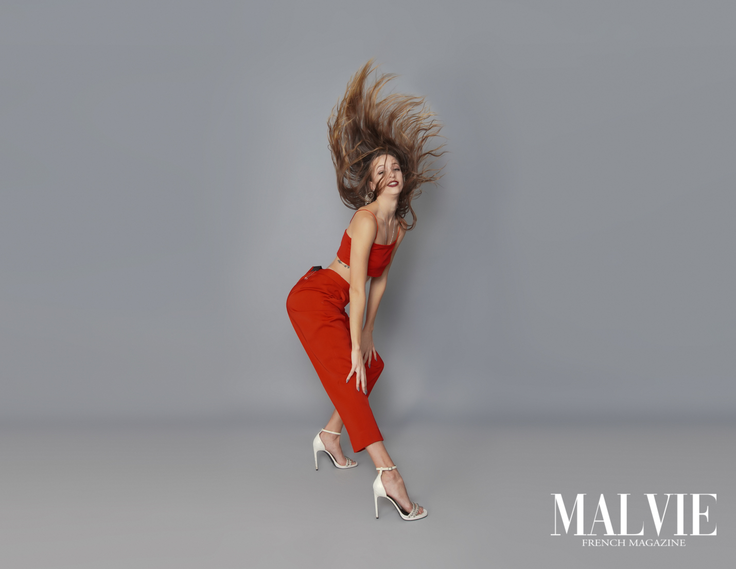 Creative Edgy High Fashion! MALVIE French Magazine