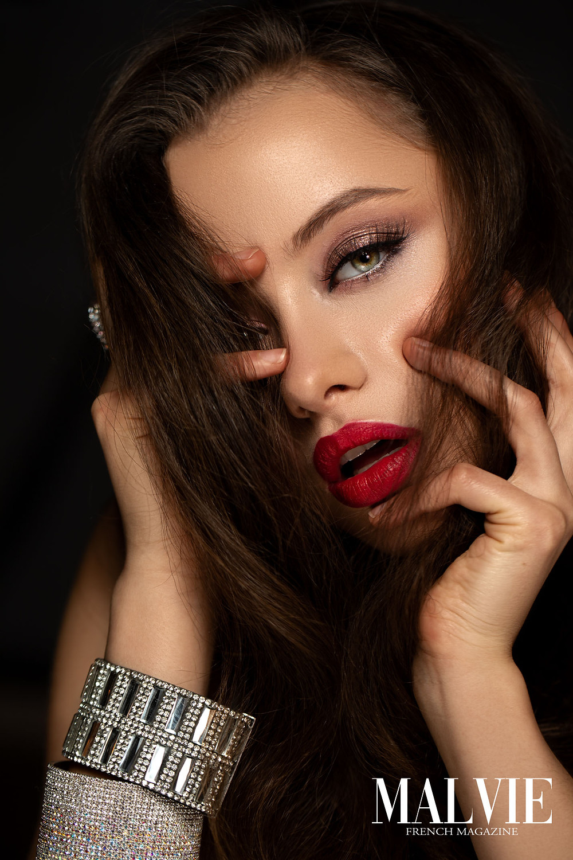 Creative Director/Makeup Artist/Hair Stylist: Liv Rideg Photographer: Jozsef Balogh Retoucher: Anna Petrova Videographer: Laszlo Toth Rudolf Model: Renata Hamikus