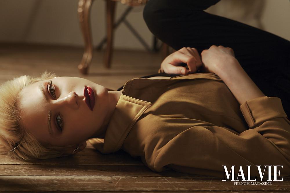 Photographer/Retoucher: Lyudmila Fedorova Model: Model: Sofya Lekontseva Makeup Artist/Hair Stylist: Makeup: Christina Fink