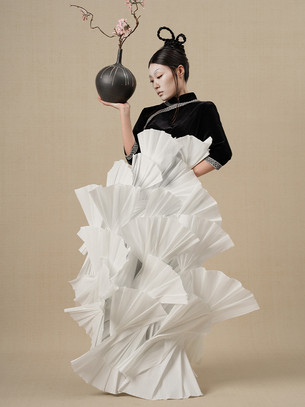 Eating Tao: fashion photography is more about the creativity of the picture