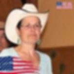 la présidente du club de danse country d'Ales : texas country 30