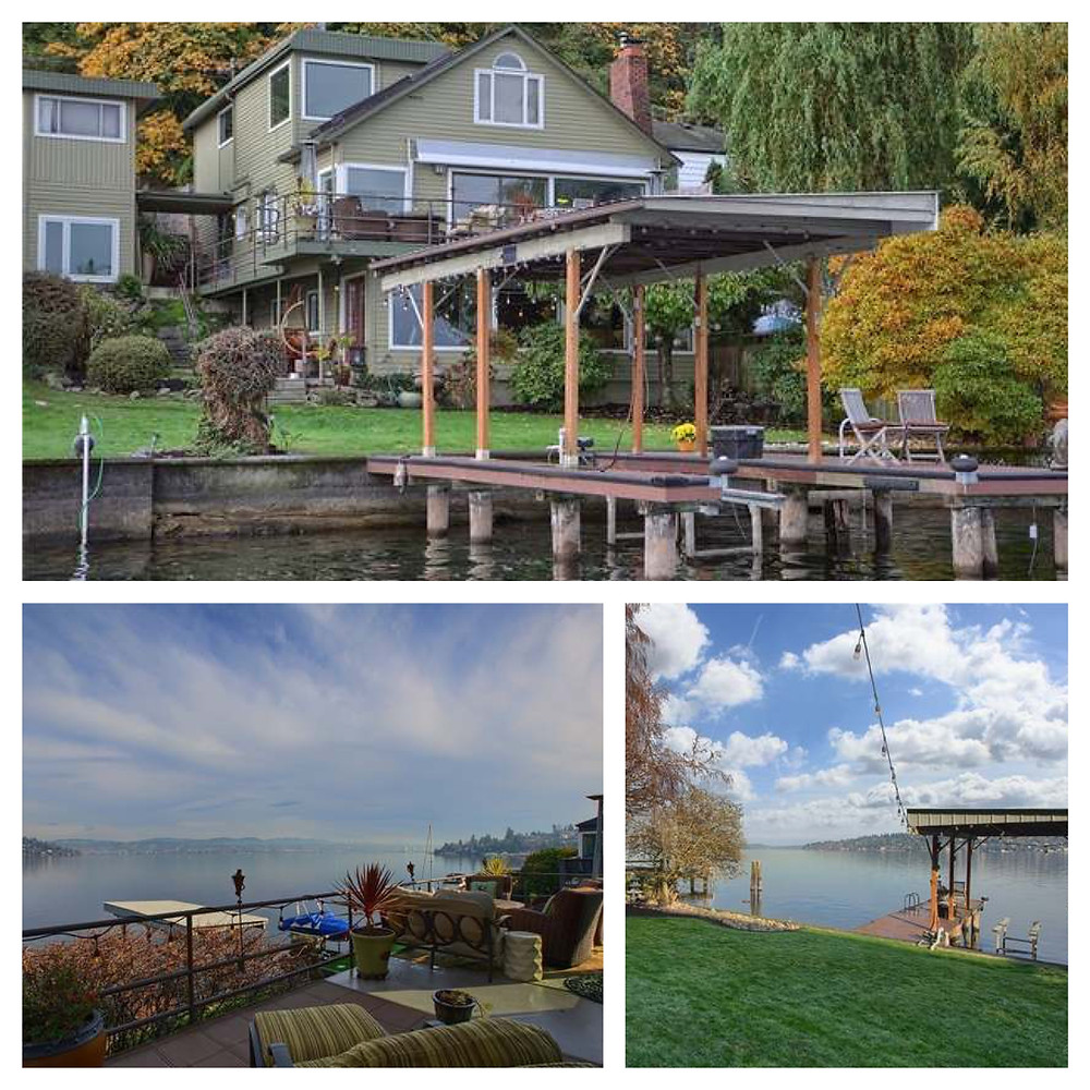 50' of coveted Lake Washington waterfront
