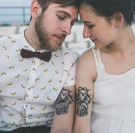 Les tatouages assortis