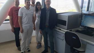 Světově uznávaný genetik profesor Alan Handyside navštívil naši kliniku
