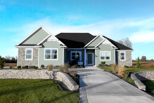 The Colorado, Ranch floorplan, design in 3D, structural quality, energy efficiency, homes by josh doyle, custom home, builder, designer